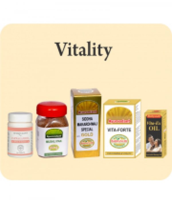 Ayurvedant Vigor and Vitality Combo Package