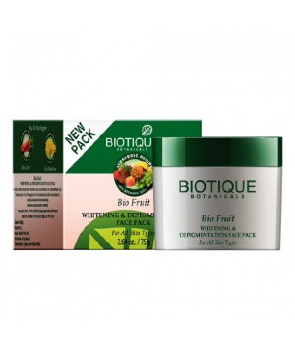Biotique Bio Fruit Whitening Lip Balm Lightens Evens Out Lip Tones