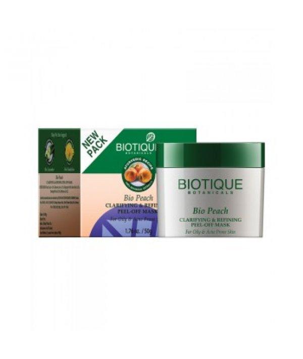 Biotique Bio Peach Clarifying & Refining Peel Off Mask