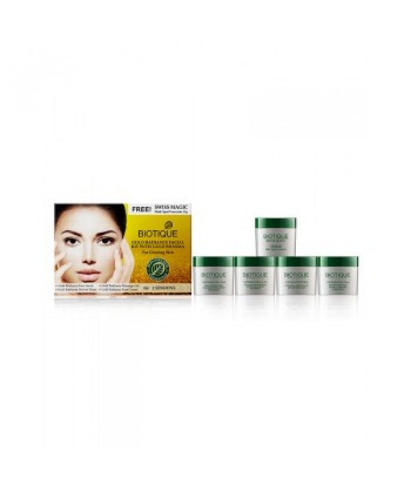 Biotique Bio Gold Radiance Facial Kit With Gold Bhasma