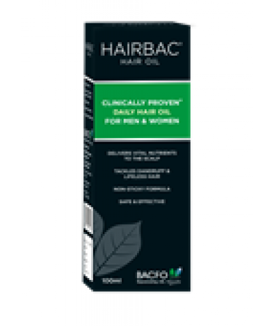 Bacfo Hairbac Oil