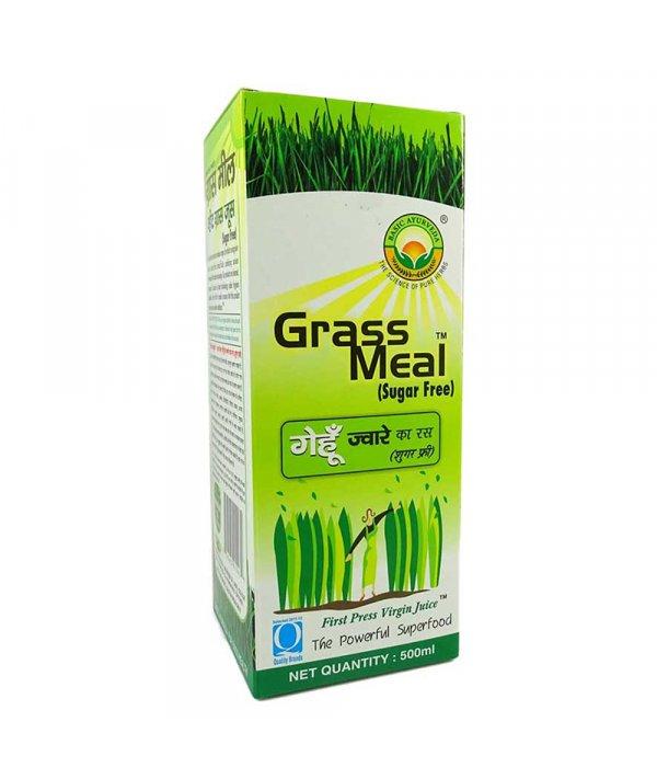 Basic Ayurveda Grass Meal Wheat Grass Juice Sugar Free