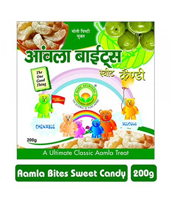 Basic Ayurveda Aamla Bite Candy Sweet