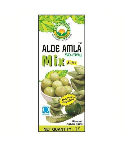 Basic Ayurveda Aloe Amla 50-Fifty Juice