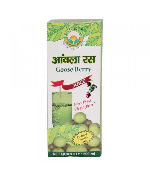 Basic Ayurveda Amla Ras (Goose Berry Juice)