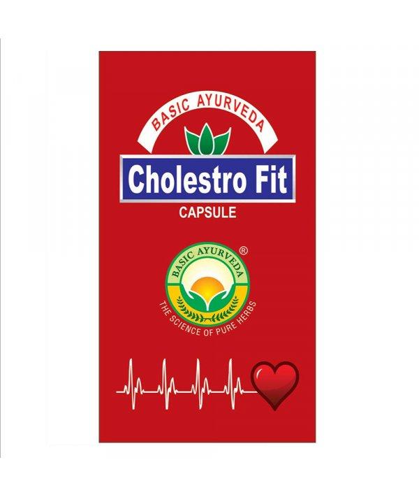 Basic Ayurveda Cholestro Fit Capsule