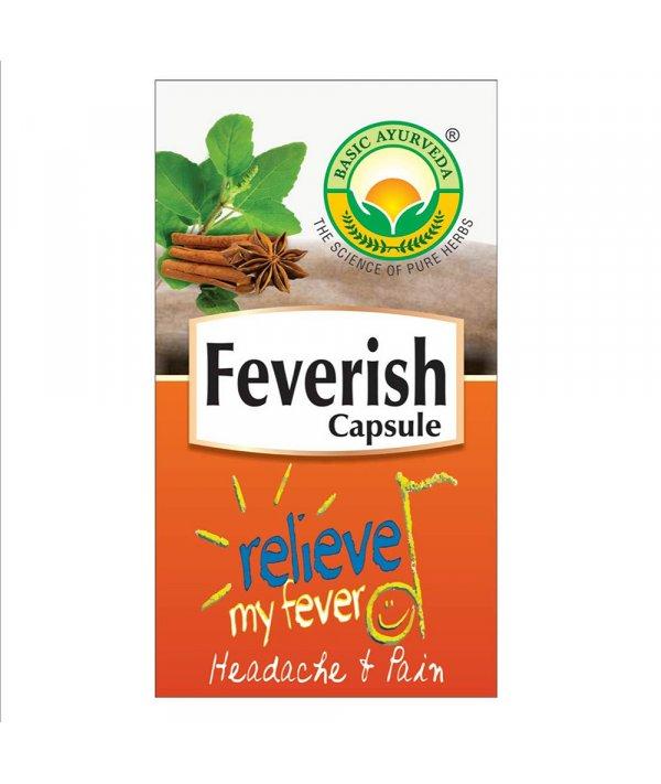 Basic Ayurveda Feverish  Capsule