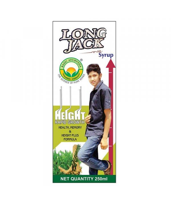 Basic Ayurveda Long Jack Syrup