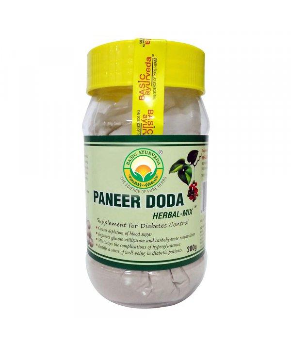 Basic Ayurveda Paneer Doda Herbal Mix Powder