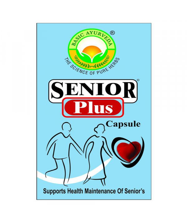 Basic Ayurveda Senior Plus Capsule