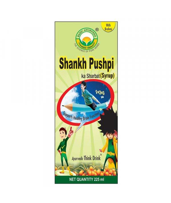 Basic Ayurveda Shankpushpi Syrup (Brahmi Yukt)