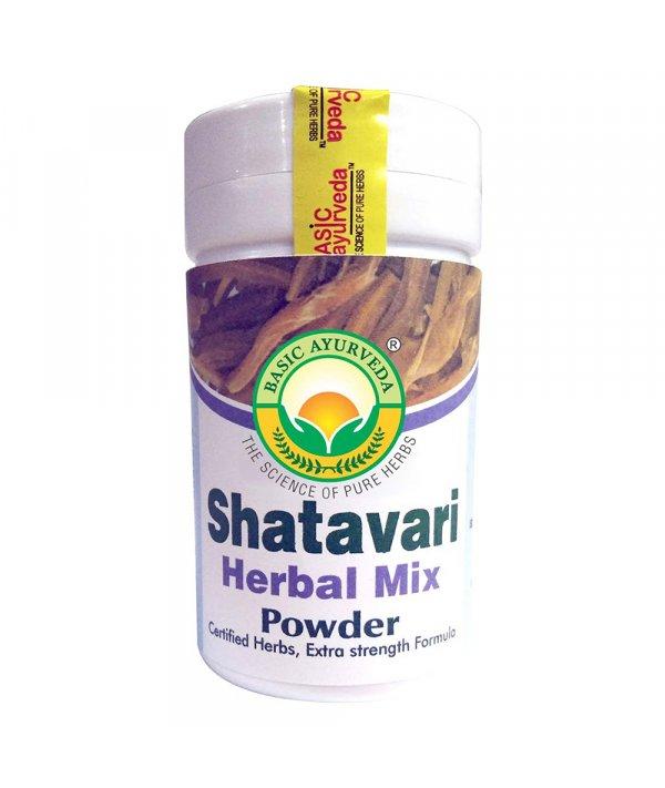 Basic Ayurveda Shatavari Herbal Mix Powder