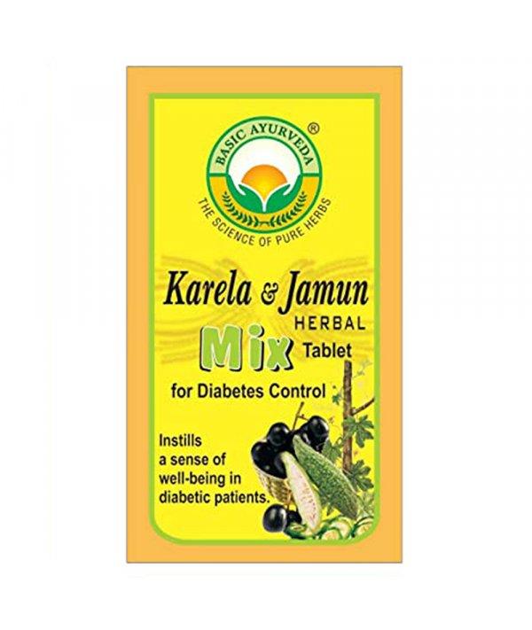 Basic Jamun Karela Herble Mix Tab
