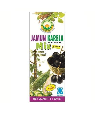 Basic Ayurveda Jamun Karela Herbal Mix Juice