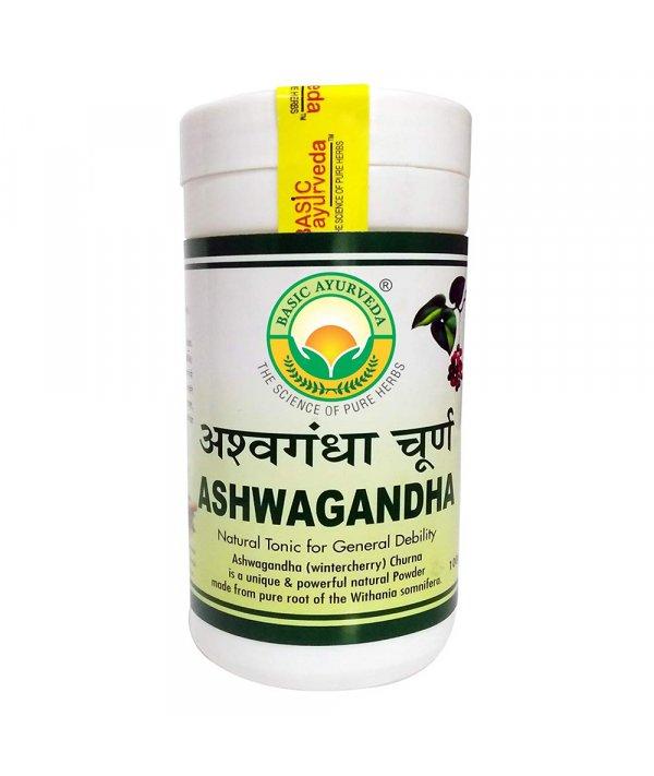 Basic Ayurveda Ashwagandha Churna