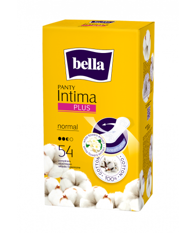 BELLA PANTY INTIMA PLUS NORMAL 54 PCS