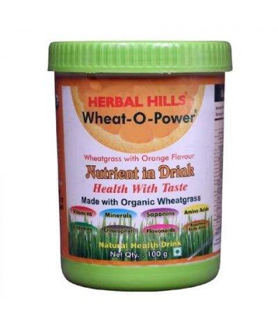 Herbal Hills Wheat-O-Power Orange Flavour