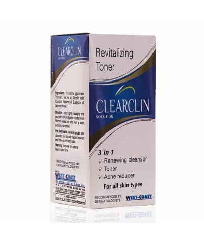 Clearclin Acne Prevention Solution 60ml (Pack Of 2)