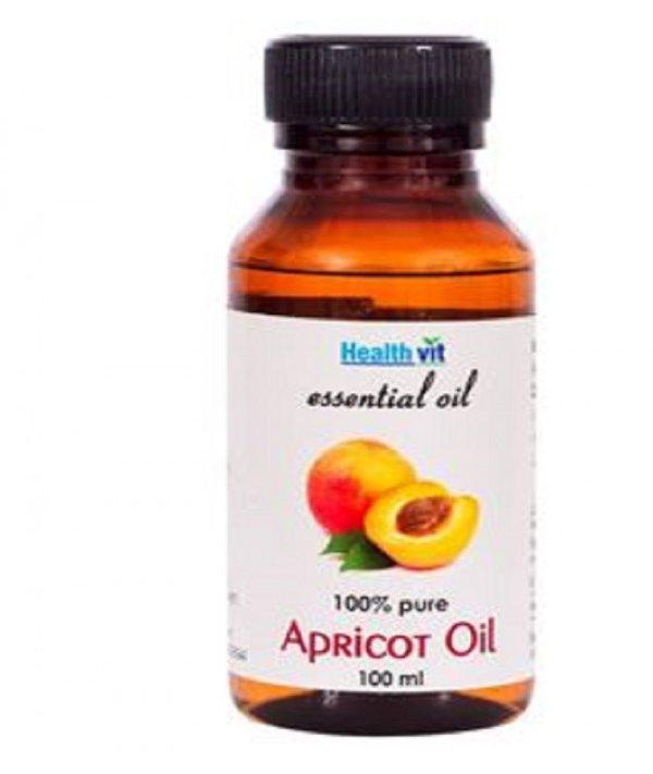 Healthvit Apricot Essential Oil- 100ml