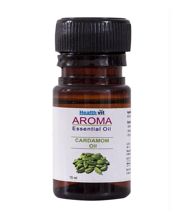 Healthvit Aroma Cardamom Oil 15ml