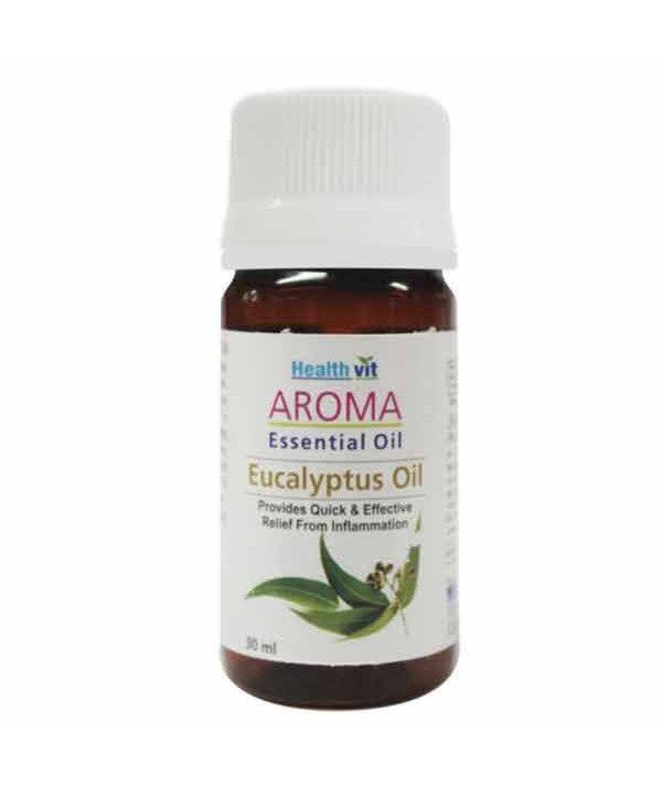 Healthvit Aroma Eucalyptus Essential Oil 30ml