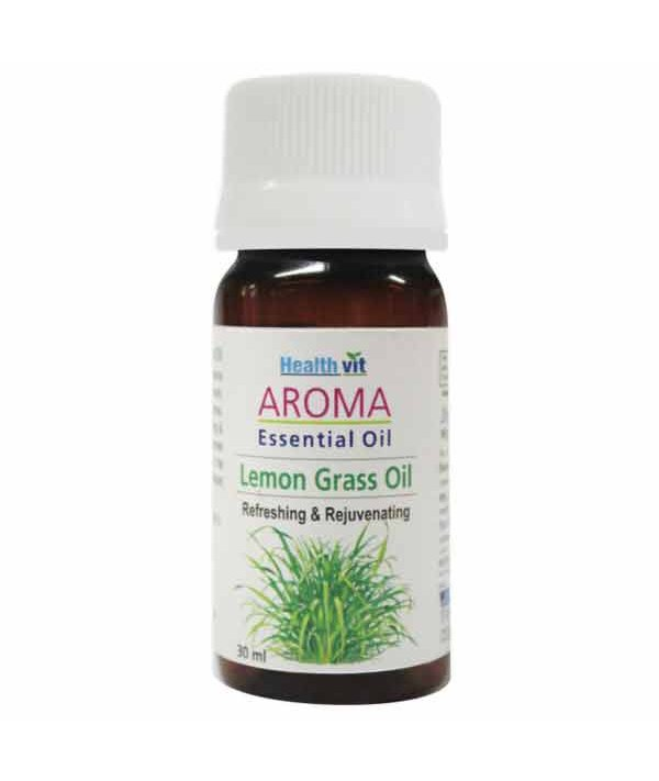 Healthvit Aroma Lemon Grass Essential Oil 30ml