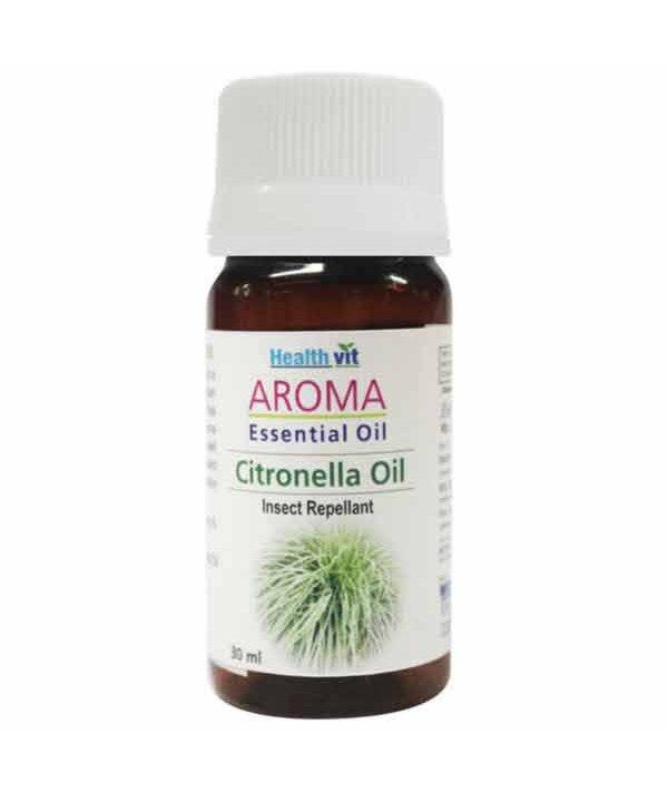 Healthvit Aroma Citronella Essential Oil 30ml