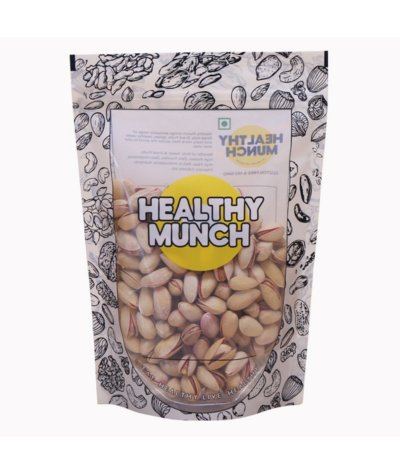 Healthy Munch Premium Pistachios (Roasted & Salted) 250 gms