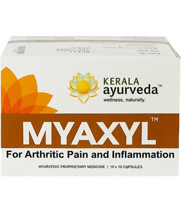 Buy Kerala Ayurveda Myaxyl Capsules at Best Price Online