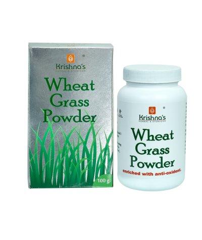 Krishna Herbal Wheatgrass Powder