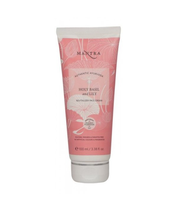 Mantra Holy Basil & Lily Revitalizer Face Cream