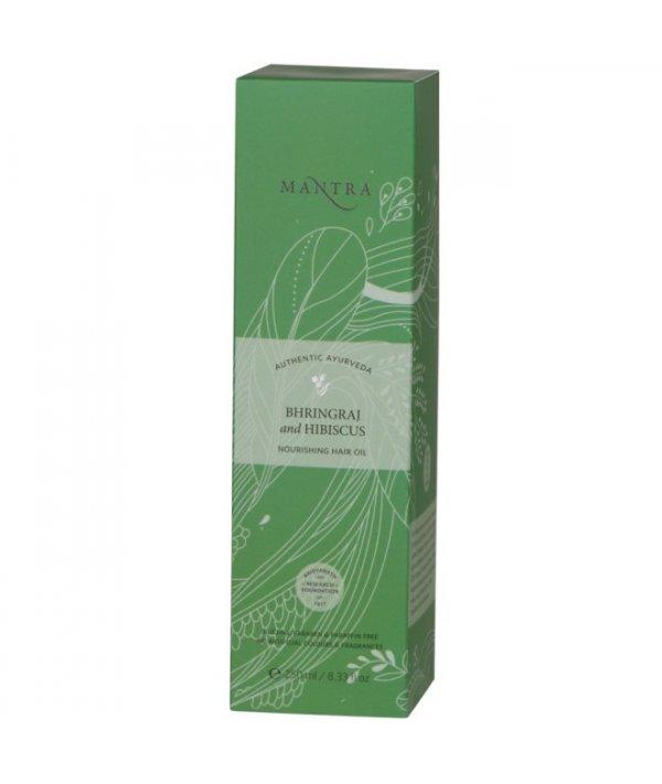 Mantra Bhringraj & Hibiscus Nourishing Hair Oil