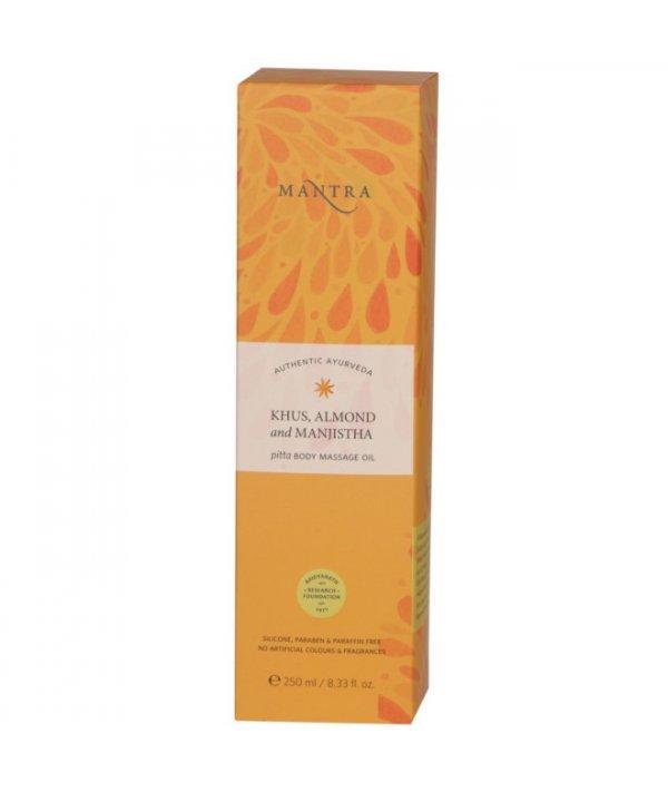 Mantra Khus Almond And Manjistha Pitta Body Massage Oil