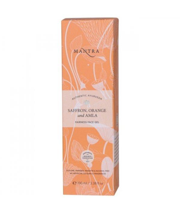 Mantra Saffron Orange And Amla Fairness Face Gel