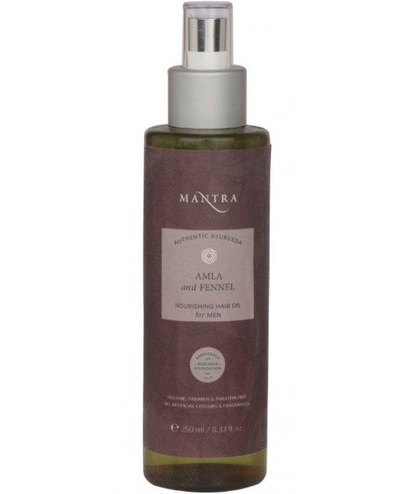 Mantra Amla & Fennel Nourishing For Men Hair Oil