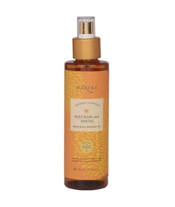 Mantra Holy Basil And Arjuna Kafa Body Massage Oil
