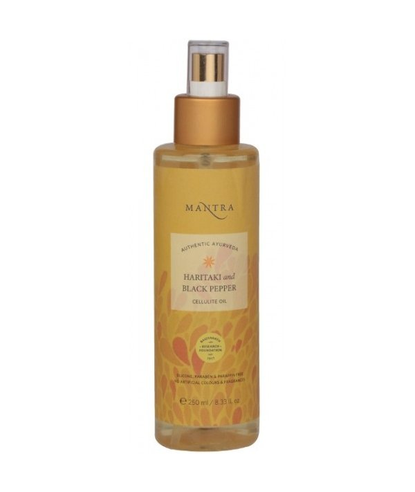 Mantra Haritaki And Black Pepper Cellulite Oil