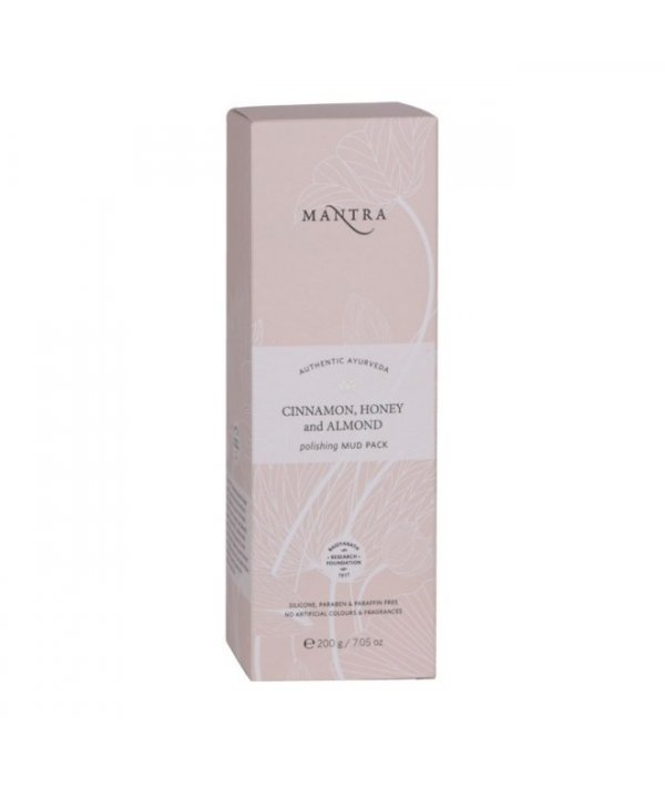 Mantra Cinnamon Honey & Almond Polishing Mud Pack