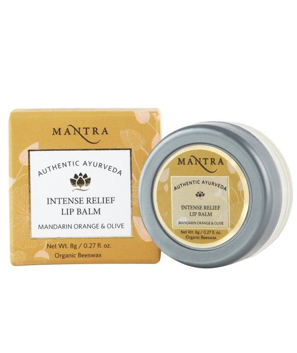 Mantra Intense Relief Lip Balm Mandarin Orange & Olive