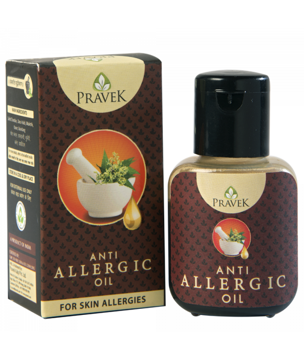Pravek Anti Allergic Oil