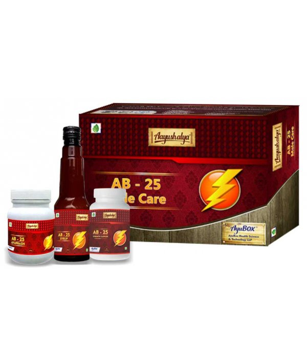 Aayushalaya AB 25 - Male Care Kit