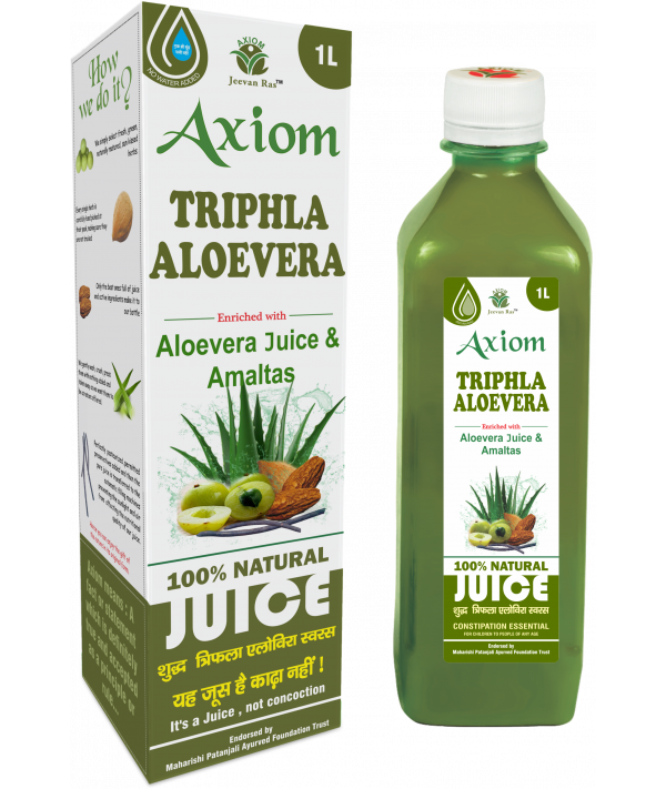 Axiom Triphla Aloevera Juice