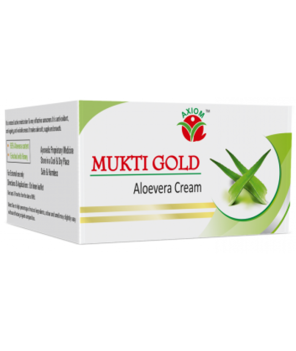 Axiom Mukti Gold Aloevera Cream