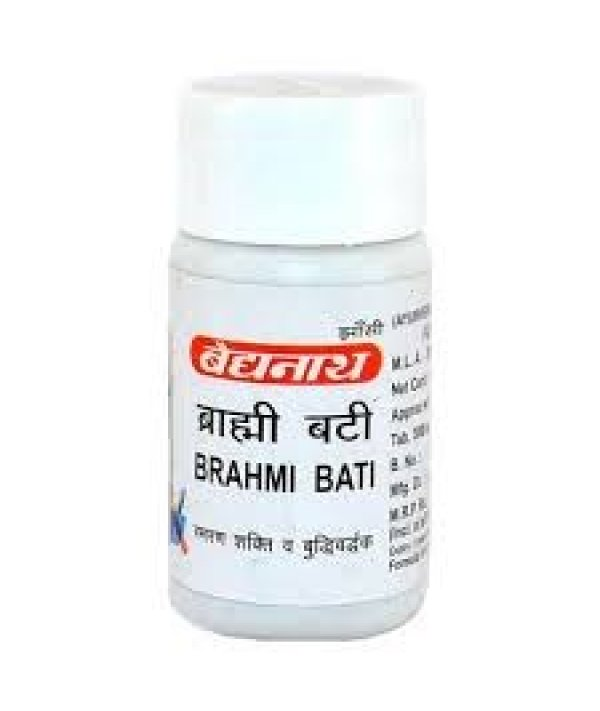 Baidyanath Brahmi Bati Swarna Moti Kesar Yukta