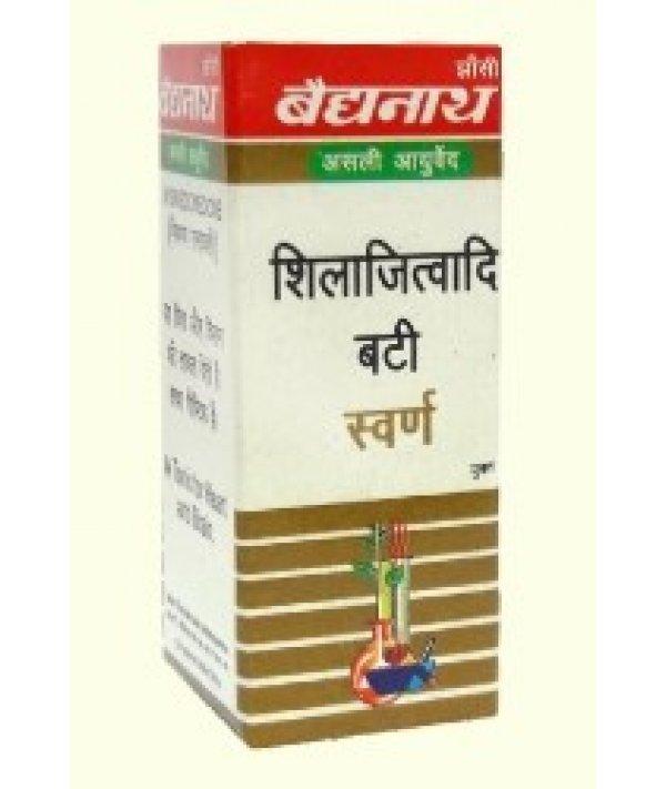 Baidyanath Shilajitwadi Bati Swarna Yukta