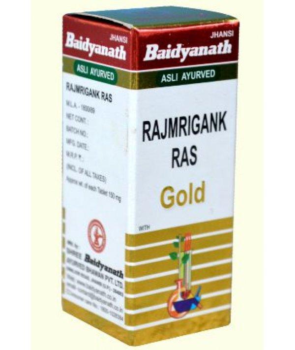 Baidyanath Rajmrigank Ras Swarna Yukta