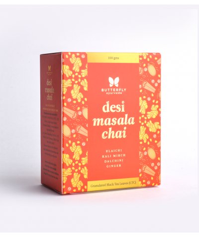 Butterfly Ayurveda Desi Masala Chai for boosting immunity and digestion