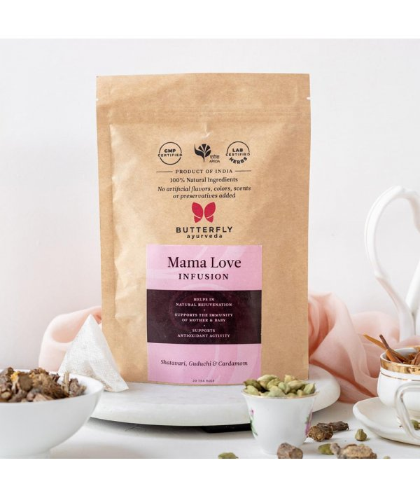 Butterfly Ayurveda Mama Love Infusion - 20 Tea Bags (40g)