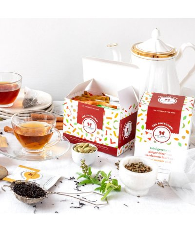 Butterfly Ayurveda Tea Potpourri (20 Tea Bags)