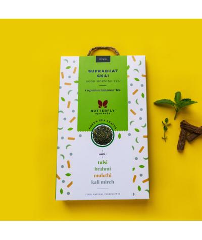 Butterfly Ayurveda Suprabhat Chai – Kapha balancing green tea